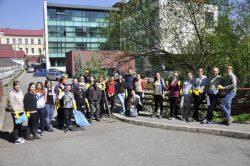 Ecologizare Pârâul Popii, 24 aprilie 2015