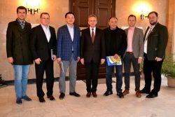 Vizita Consulului din Kazakhstan la USAMV Cluj-Napoca, 11 martie 2016