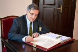 Vizita Ambasadorului Franței la USAMV Cluj-Napoca, 7 octombrie 2014