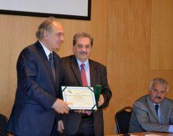 Înmânarea diplomei ARACIS, 9 octombrie 2014