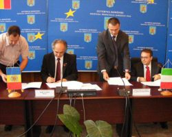 Semnarea acordului pentru Centrul de la Viterbo