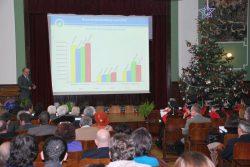Raportul rectorului pe anul 2012, 20 Decembrie 2012