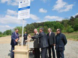 Piatra de temelie a Institutului de Cercetări Horticole Avansate al Transilvaniei